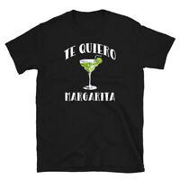 Funny Mexican Cinco de Mayo Te Quiero Margarita Short-Sleeve Unisex T-Shirt
