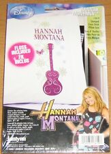 Disney Hannah Montana Stamped Cross Stitch Pillow Case, Floss Included New