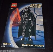 Lego Star Wars 8010 Technic Darth Vader INSTRUCTION MANUAL BOOK ONLY AAYC