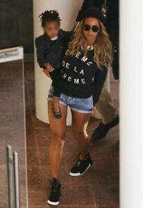 Zoe Karssen 'Creme de la Creme' Black Sweatshirt As Seen On Beyonce Size Small