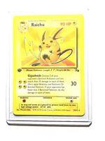RAICHU - 29/62 - 1st Edition Fossil - Rare - Pokemon Card -  NM
