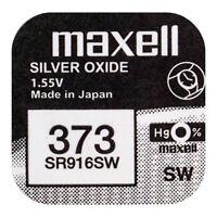 1 PILA BOTON MAXELL 373, V373, SR916SW, SR68 1,55V