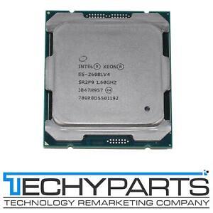 Intel SR2P9 Xeon E5-2608L v4 1.60Ghz 8-Core 20M 6.4GTs QPI LGA2011-3 50W TDP CPU
