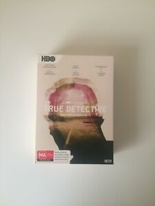 True Detective Complete Series 9 Discs Like New - Sold As Is - Free Post + Track