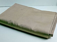 NWOT UNDER THE CANOPY TWIN SIZE SHEET CAPPUCCINO COLOR100% ORGANIC COTTON