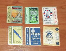 SIX GOOD CIGARETTE PACKET FRONTS.
