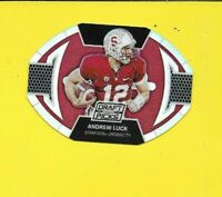 31899 ANDREW LUCK PRIZM BALL DIE CUTS STANFORD COLTS CARD #5 🏈
