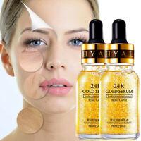 Anti-Aging Face Essence Serum Cream Women 24k Gold Facial Skin Care Anti Wrinkle