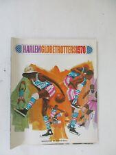 Vintage 1970 Harlem Globetrotters Program