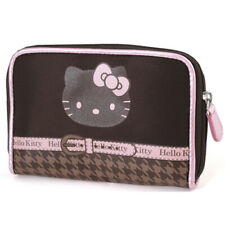 Portefeuille Hello Kitty chocolat pied de poule by Camomilla