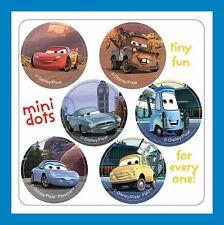 96 Disney Cars Dot Stickers (16 Sheets) Mater Lightning McQueen Luigi Guido