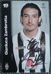 Gianluca Zambrotta original signierte Autogrammkarte, autograph,Juventus Turin