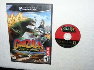Godzilla: Destroy All Monsters Melee (Nintendo GameCube, 2002) 1-4 players Tests