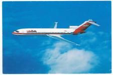 USAir Boeing 727 Postcard - Vintage B727 US Air Airways Airplane USA Travel Card