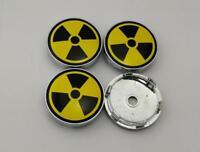 60mm Nuclear Weapon Logo Wheel Center Caps Hub Caps Emblems Badge 6057