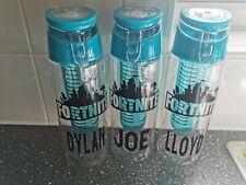 Personalised Fortnite Logo Water Bottles
