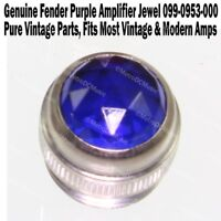 Genuine Fender PURPLE Amplifier Jewel Pure Vintage Lens Amp NEW