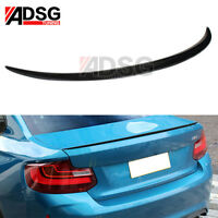 Real Carbon Fiber M2 Style Rear Trunk Boot Spoiler for 2 Series F22 2-Door Coupe