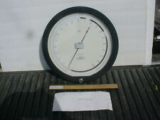 "Heise precision gauge 0-30 psi 12"" calibrated"