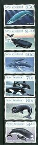 1988 New Zealand/Ross Dependency - Whales MUH Set of 6