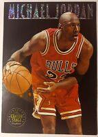 1993-94 Skybox Premium Michael Jordan The Center Stage #CS1, Sharp Insert Card!
