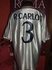 R.CARLOS REAL MADRID 1998/99 MAGLIA SHIRT CALCIO FOOTBALL MAILLOT JERSEY SOCCER