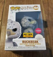 Funko Pop! Buckbeak Flocked Hot Topic Exclusive LE 3000 Black Eye Variant