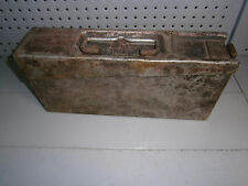 WWII German MG 34/42 Aluminium Ammo box container