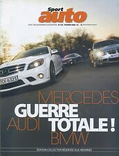 SPORT AUTO n°553 FEVRIER 2008AUDI BMW MERCEDES CORVETTE ZR1 ASTON MARTIN VANTA