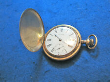 WALTHAM GOLD FILLED POCKET WATCH SIZE 16, GRADE 620, H.C. RUNNING