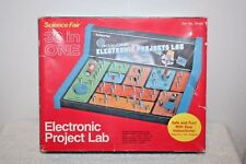 Science Fair 30 in One Electronic Projects Lab Cat No 28-161 Radio Shack wManual