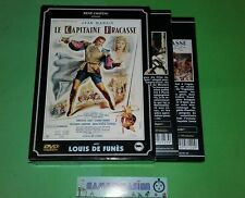 LE CAPITAINE FRACASSE/CAPITAN JEAN MARAIS LOUIS DE FUNES BOURVIL COFFRET 2 DVD