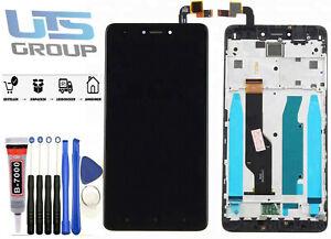 Für Xiaomi Redmi Note 4X LCD Bildschirm Display Touchscreen Rahmen Schwarz