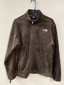 The North Face Large Brown Osito Jacket Full Zip Sweater Soft Fleece