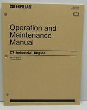 CATERPILLAR OPERATION AND MAINTENANCE C7 INDUSTRIAL ENGINE SEBU8089 2005 NEW