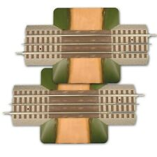 """Lionel FasTrack 6-12036, 10"""" Grade Crossing, Two (2) Track Sections, O Gauge"""