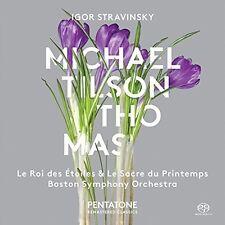 Stravinsky / Men's C - Le Roi Des Etoiles - Le Sacre Du Printemps [New SACD]