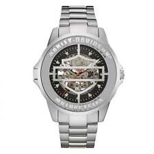 Reloj de pulsera automático de Harley Davidson 76A154 los hombres