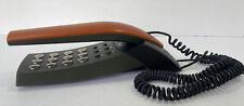 Stylish Doro X20 Corded Telephone Wall or Desk Made in Denmark Orange & Grey