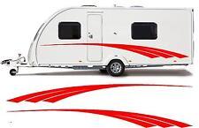 camping-car / Caravane vinyle graphiques Kit Stickers autocollant rayures #12XL