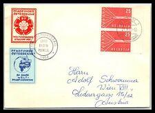 GP GOLDPATH: SWITZERLAND COVER 1957 _CV776_P09