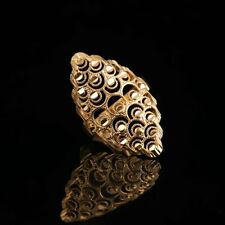 St.kunkka 2018 New Fashion Jewelry Exaggerated Big Ring For Woman Wedding Party