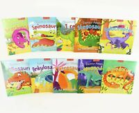 Miles Kelly Dinosaur Adventures 10 Picture Books Paperback By Catherine Veitch