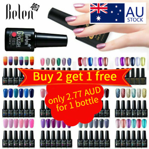 Ukiyo 6 Colors UV LED Gel Nail Polish Manicure Lacquer Need Top Base Coat