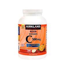 Kirkland Signature CHEWABLE VITAMIN C 500mg, 500 Tablets