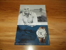 LONGINES WATCH FT ANDRE AGASSI-2008 original advert