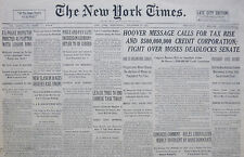 12-1931 December 9 PRICE AND PAYCUTS DECREED IN GERMANY. HITLER TO BE CURBED