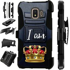 Luxguard For Samsung Galaxy S10/S9/S8/Plus Phone Case Cover I AM KING