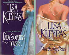 2 Complete Series - Lot of 6 Bow Street, Capitol Theatre Trilogy by Lisa Kleypas