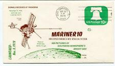 1974 Mariner 10 Second Mercury Encounter Pasadena Cape Canaveral NASA USA SAT